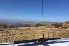 Nigel-Pugh-operating-VHF-UHF-from-Bwlch-y-Groes